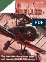 CESSNA 172. SCALE FREE FLIGHT, RC ARTICLE&PLAN. AEROMODELLER JULY 1957.pdf