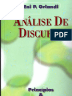 Análise do Discurso - Eni Orlandi