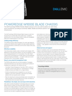 Dell PowerEdge M1000e Spec Sheet