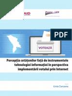 Studiul Vot Prin Internet 3.10.2018