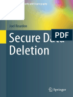 Secure Data Deletion - Joel Reardon