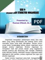 Sesi 9-Desain _ Struktur Organisasi