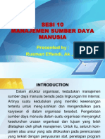 Sesi 10-Manajemen SDM