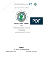 Tarea T1.1 Microcontroladores