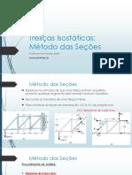 Aula 06 - Treliças Isostáticas_Método_das_Seções
