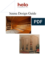 sauna design guide