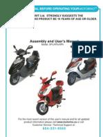 Manual de un Scooter Eléctrico Motorino