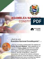 Presentacion-Asamblea Nacional Constituyente
