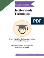 Effective Study Techniques