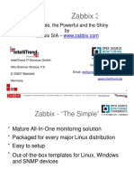 Zabbix 3.0. the Simple the Powerful and the Shiny-Wolfgang Alper