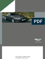 Aston Martin Db9  catalog