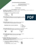 Evaluación Diagnóstica de Destrezas