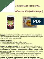 4 - Kompot, Slato, Kandirano  voće....