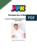 Plan de Gobierno Rímac - Peruanos Por El Kambio