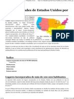 Anexo_Ciudades de Estados Unidos Por Población - Wikipedia, La Enciclopedia Libre