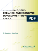 Foreign Aid, Self-Reliance, And Economic Development in West Africa_ (1996)
