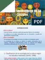 Analisis Sociologico de La Cultura