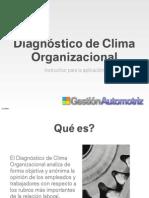 Instructivo de Clima Organizacional-GestionAutomotriz