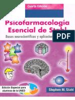 Psicofarmacologia Esencial de Stahl 4 Edicion