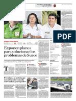 Exponen Planes Para Solucionar Los Problemas de Surco