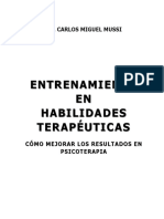 Libro Entrenamiento en Habilidades Terapeuticas Como Mejorar Los Resultados en Psicoterapia