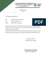 Surat Tugas Pkm