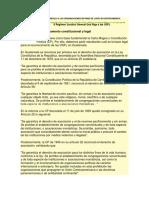 Marco Juridico Que Regula a Las Organizaciones Sin Fines de Lucro en Centroamerica