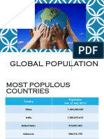 global population ppt