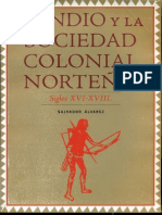 El Indio y La Sociedad Novohispana