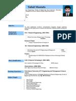 Tufail Resume