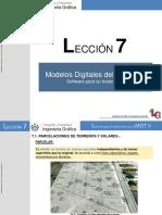 Lección 7.- Software Para El Tratamiento de Un MDT II