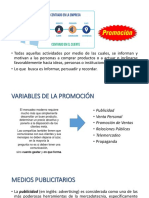Variable promocion marketing