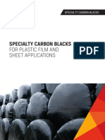 Brochure Specialty Carbon Blacks for Plastic Film and Sheet Applications