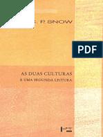 AS DUAS CULTURAS E UMA SEGUNDA - C. R. SNOW.pdf