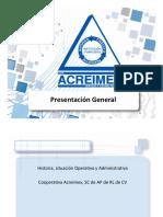 ACREIMEX 2018_PRESENTACION
