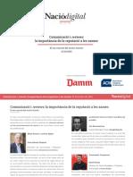 Jornada «Comunicació i reviews