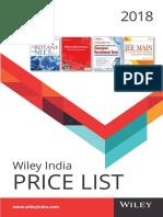 Price ListWILEY