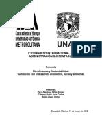 Microfinanzas y sustentabilidad - Ponencia.docx