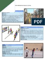 Juegos Deportivos Para El Futsal