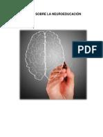 Ensayo Sobre La Neuroeducación