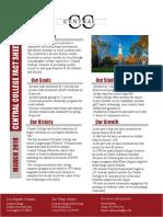 Central College Fact Sheet Final