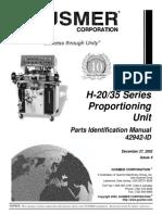 Manual Operacion Maquina Poliuretano Gusmer h2035 42942-Id