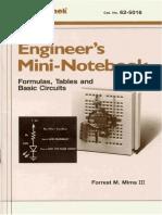 Radio Shack - Mini-Notebook - Formulas Tables Basic Circuits