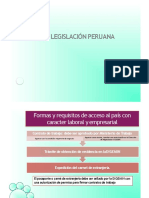 LEGISLACIÓN PERUANA  SESIÓN N°01