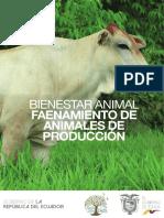 Faenamiento de la carne en Ecuador