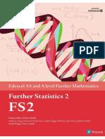 Edexcel Further Statistics 2