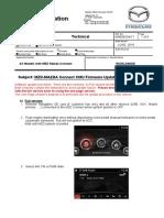 Mazda Connect 2018 Firmware Cmu Update Procedure-worldwide