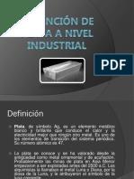 Obtención de Plata a Nivel Industrial