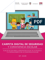 Carpeta Digital de Seguridad Escolar