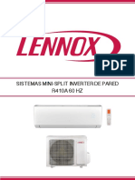 Mini Splits Lennox 12000 a 22000btu Brochure